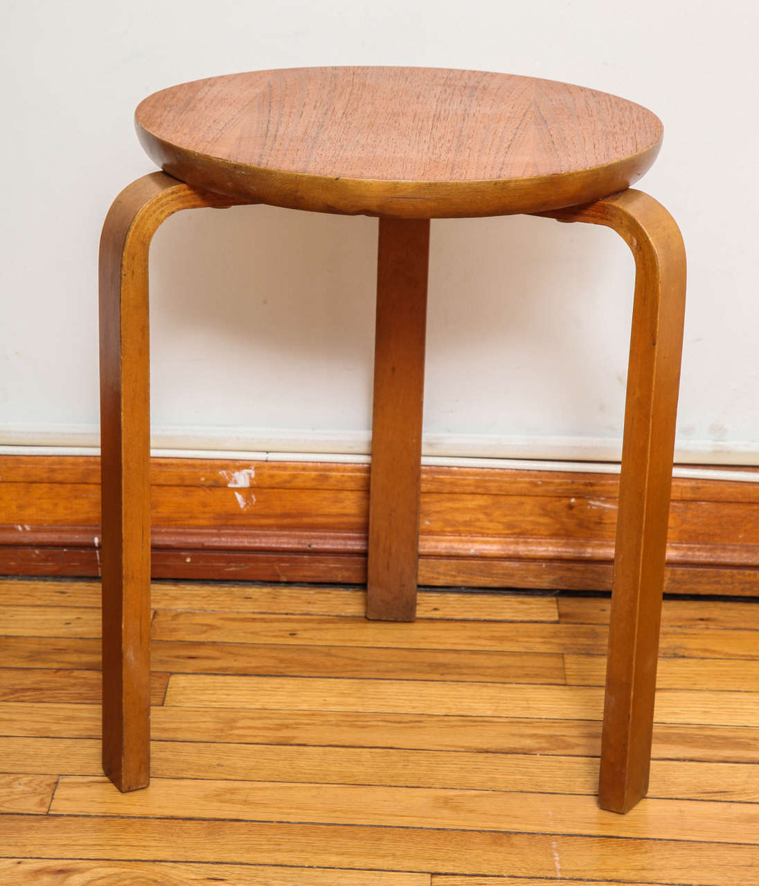 Birch Swedish Stacking Stools For Sale