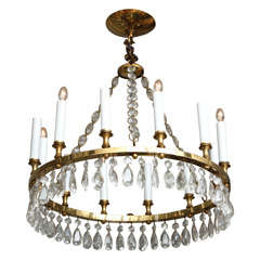 A round ring form Neo Classic design chandelier