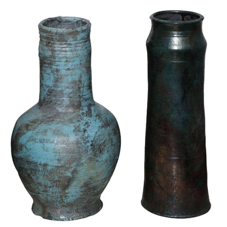 David Hacker Ceramic Vases