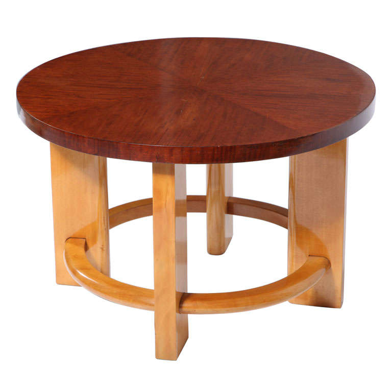 French art deco side table for sale at 1stdibs - Archives departementales 33 tables decennales ...