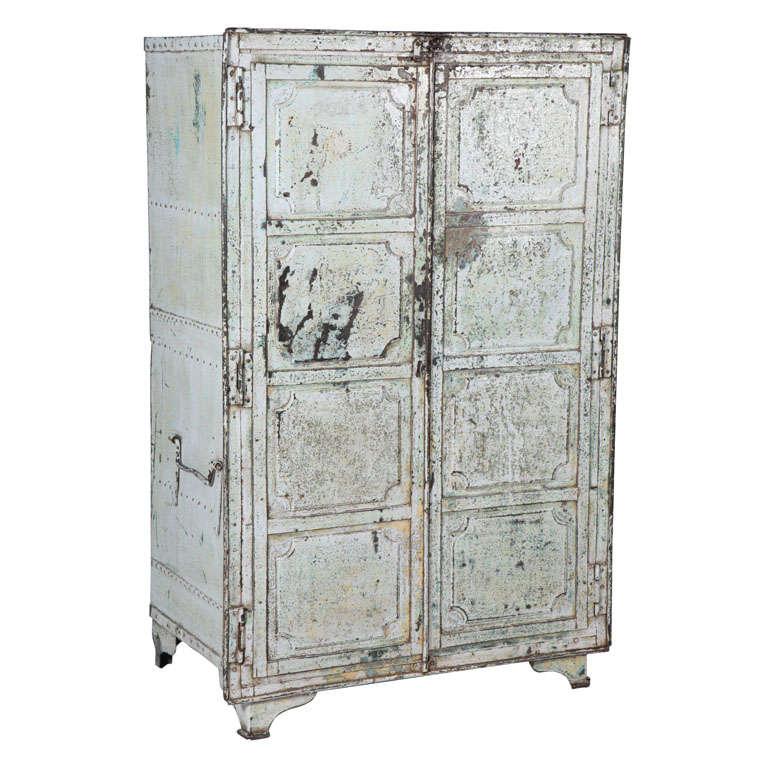 Metal Two-Door Cabinet