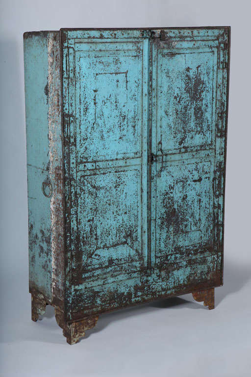 Metal Two-Door Cabinet image 2