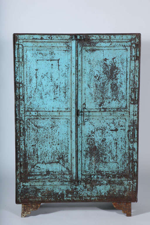 Metal Two-Door Cabinet image 3