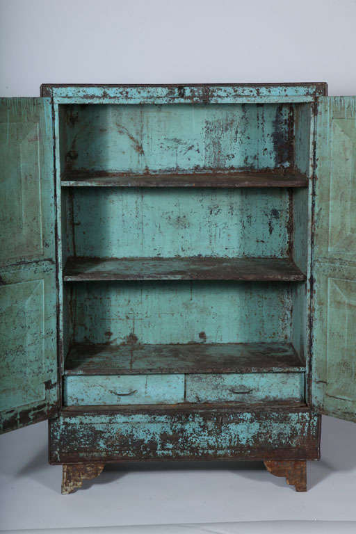 Metal Two-Door Cabinet image 5