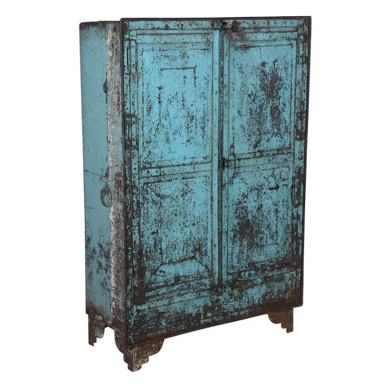 Metal Two-Door Cabinet