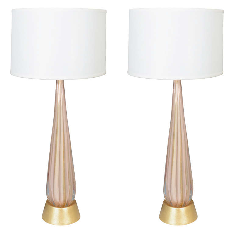 century tall clear and pink glass table lamps is no longer available. Black Bedroom Furniture Sets. Home Design Ideas