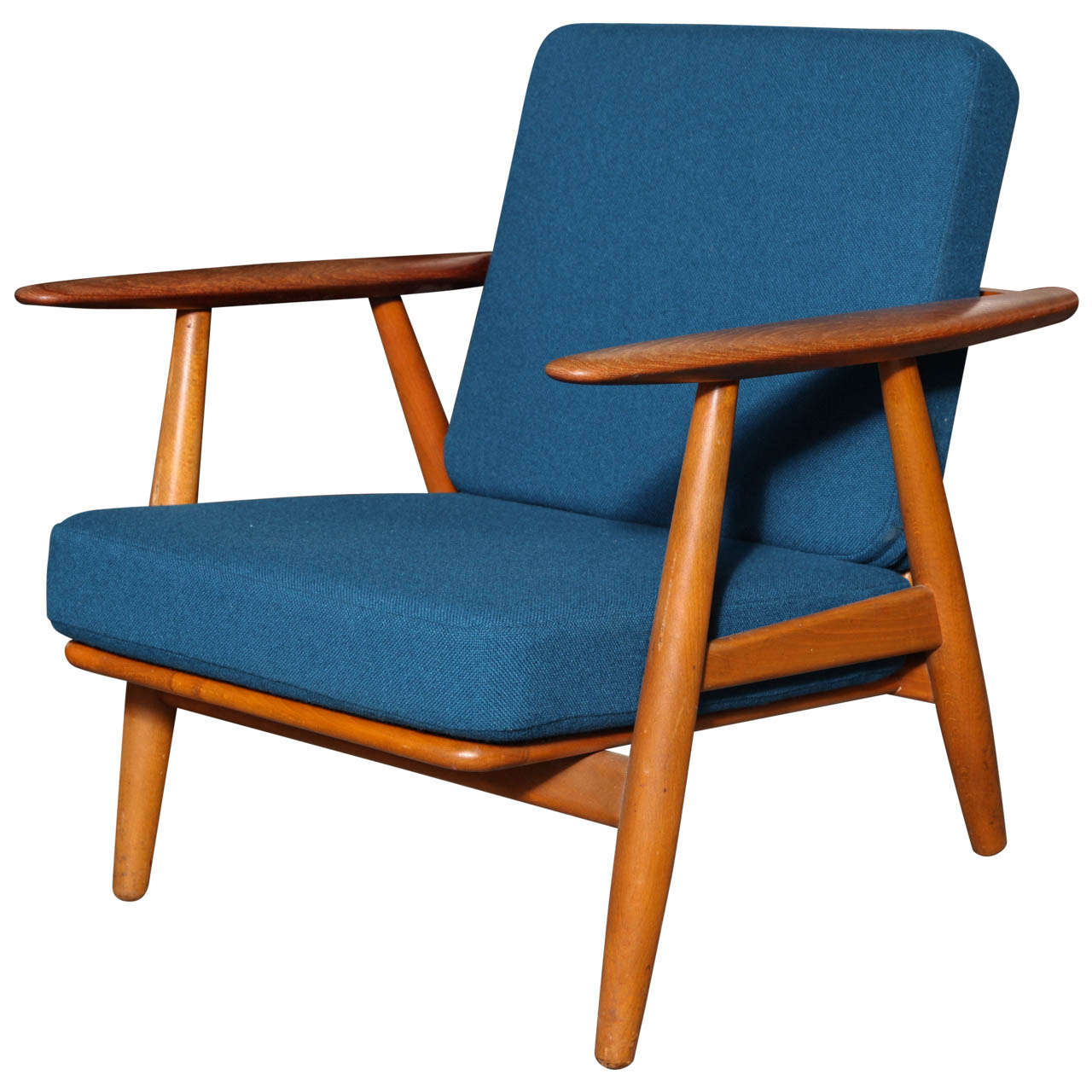 Hans Wegner GE 240 Cigar Lounge Chair at 1stdibs