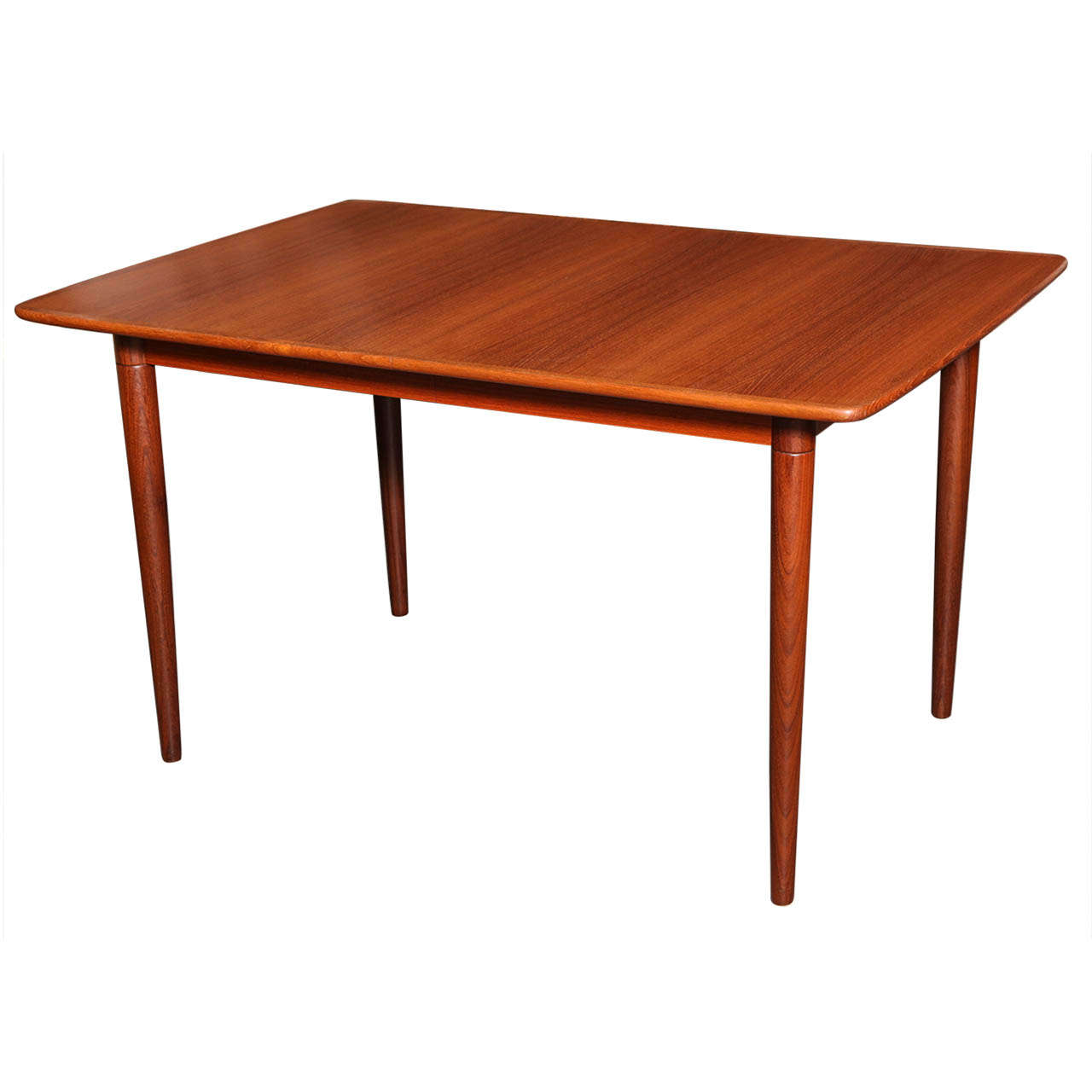 Teak extension dining table in excellent condition very clean and - Original Gustav Bahus Norwegian Teak Dining Table 1