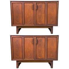 Pair of Mid-Century Modern Chests by RN Richardson Bros.