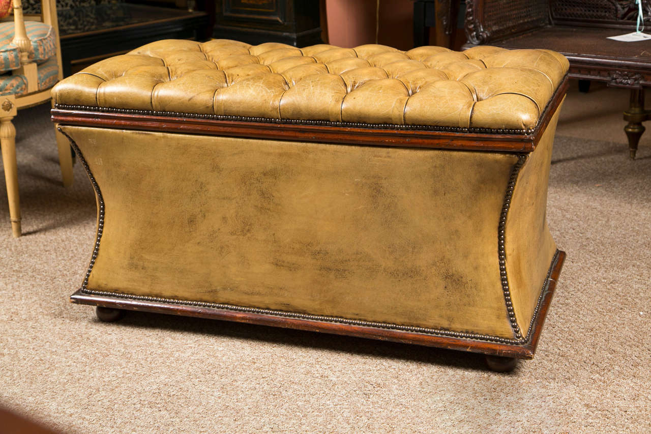 Distressed Fine Coffee Table Trunk At 1stdibs