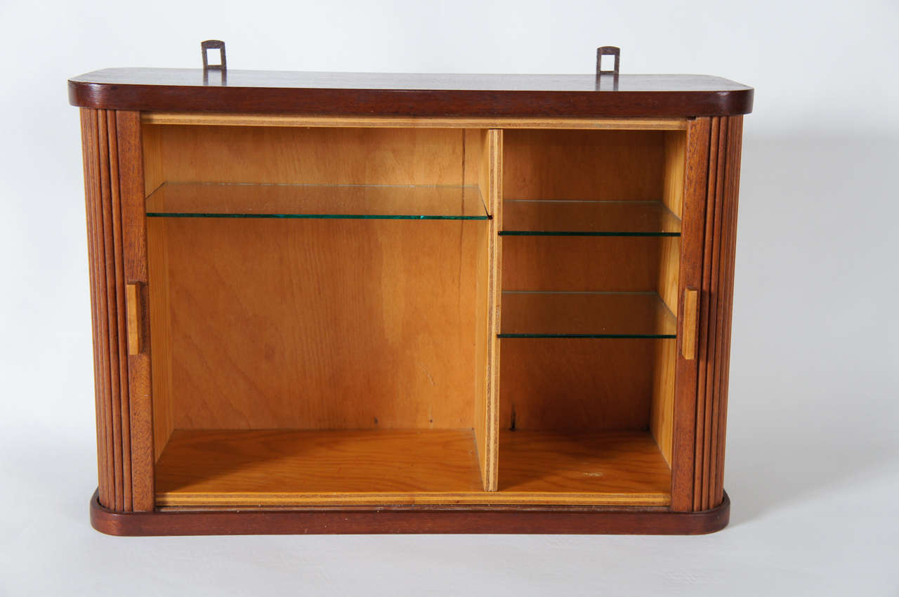 small cabinets with doors a small hanging cabinet with tambour doors at 1stdibs 26322