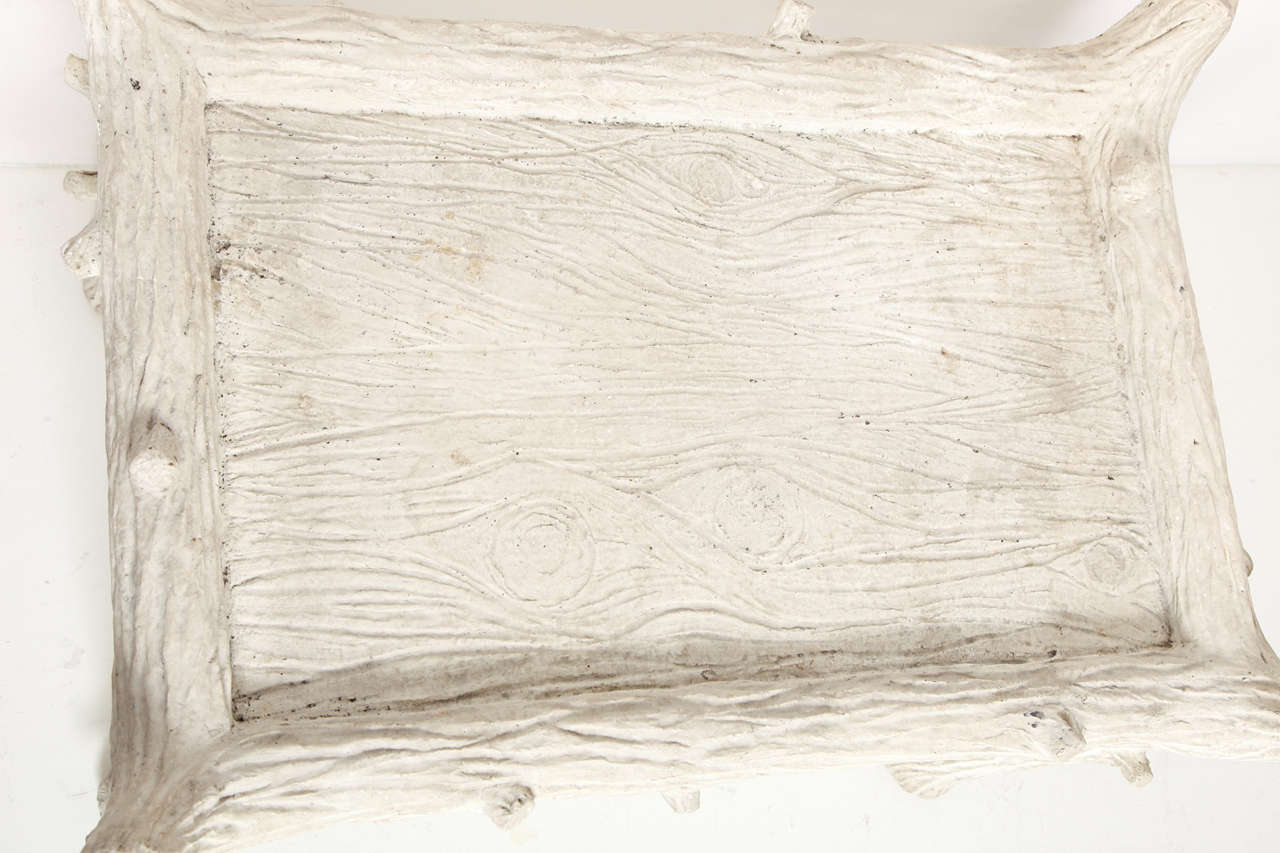 John Dickinson Plaster Twig Table For Sale 2