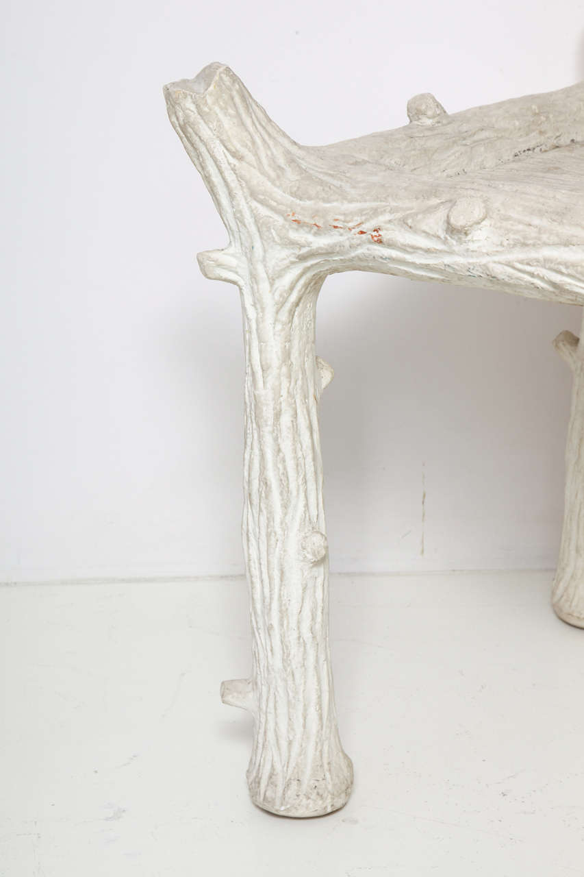 John Dickinson Plaster Twig Table For Sale 4