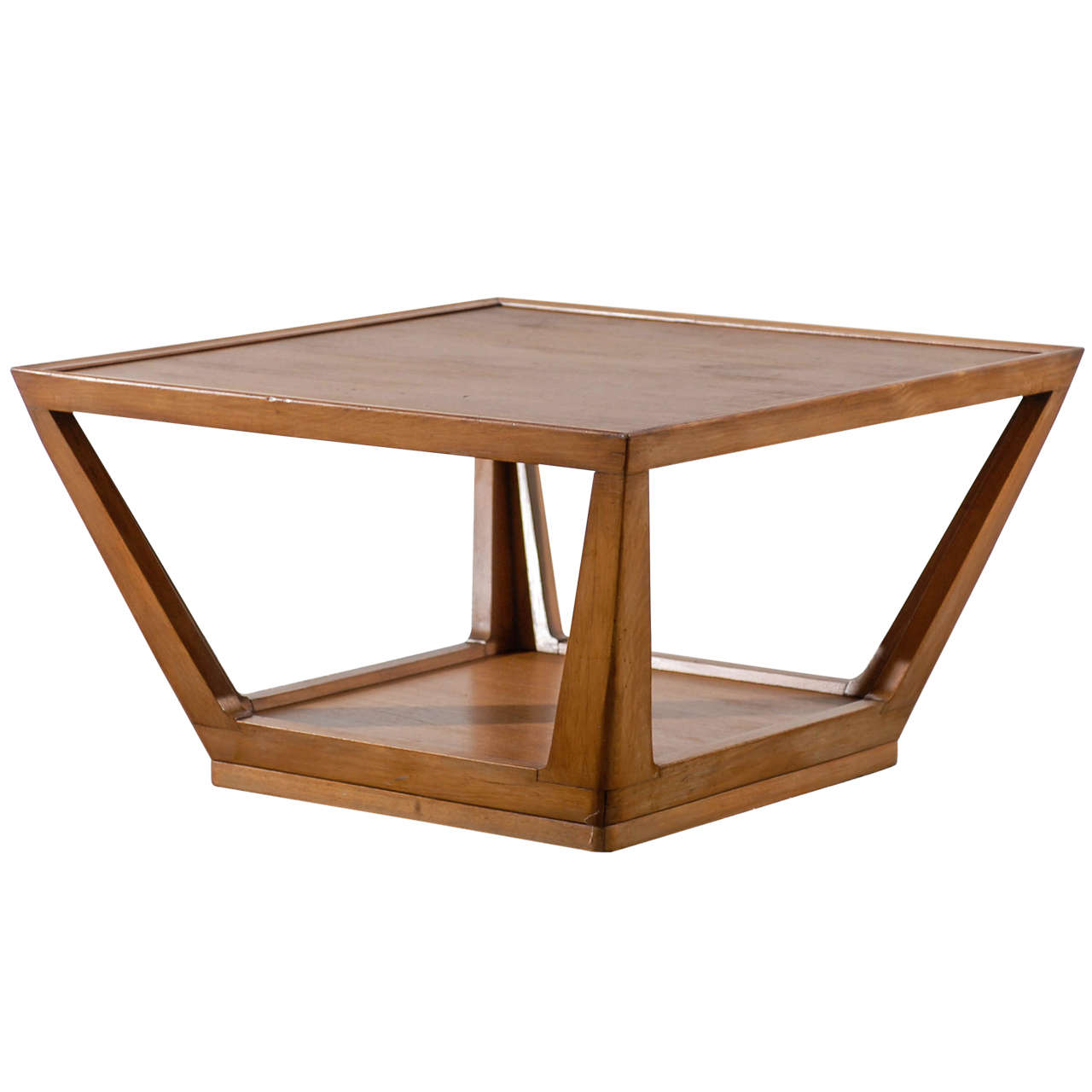 Edward Wormley For Drexel Trapezoid Coffee Table At 1stdibs