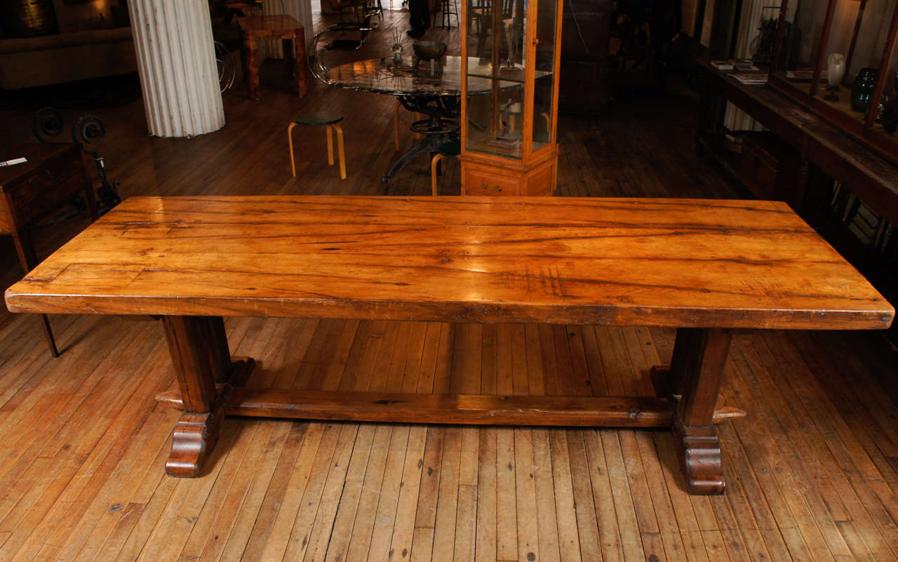 18th c Oak French Trestle Table at 1stdibs : DSC9413 from 1stdibs.com size 1280 x 801 jpeg 124kB