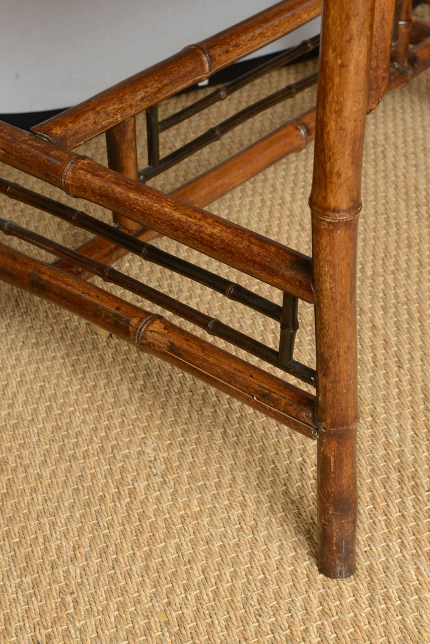 19th Century English Bamboo Flip Flop Desk For Sale 6