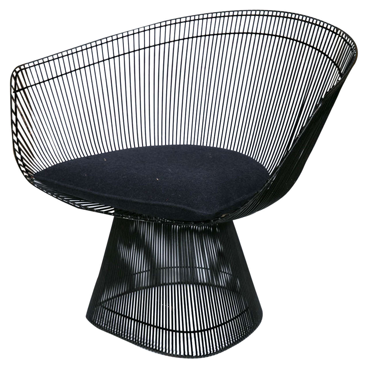 Midcentury Warren Platner Lounge Chair for Knoll 1