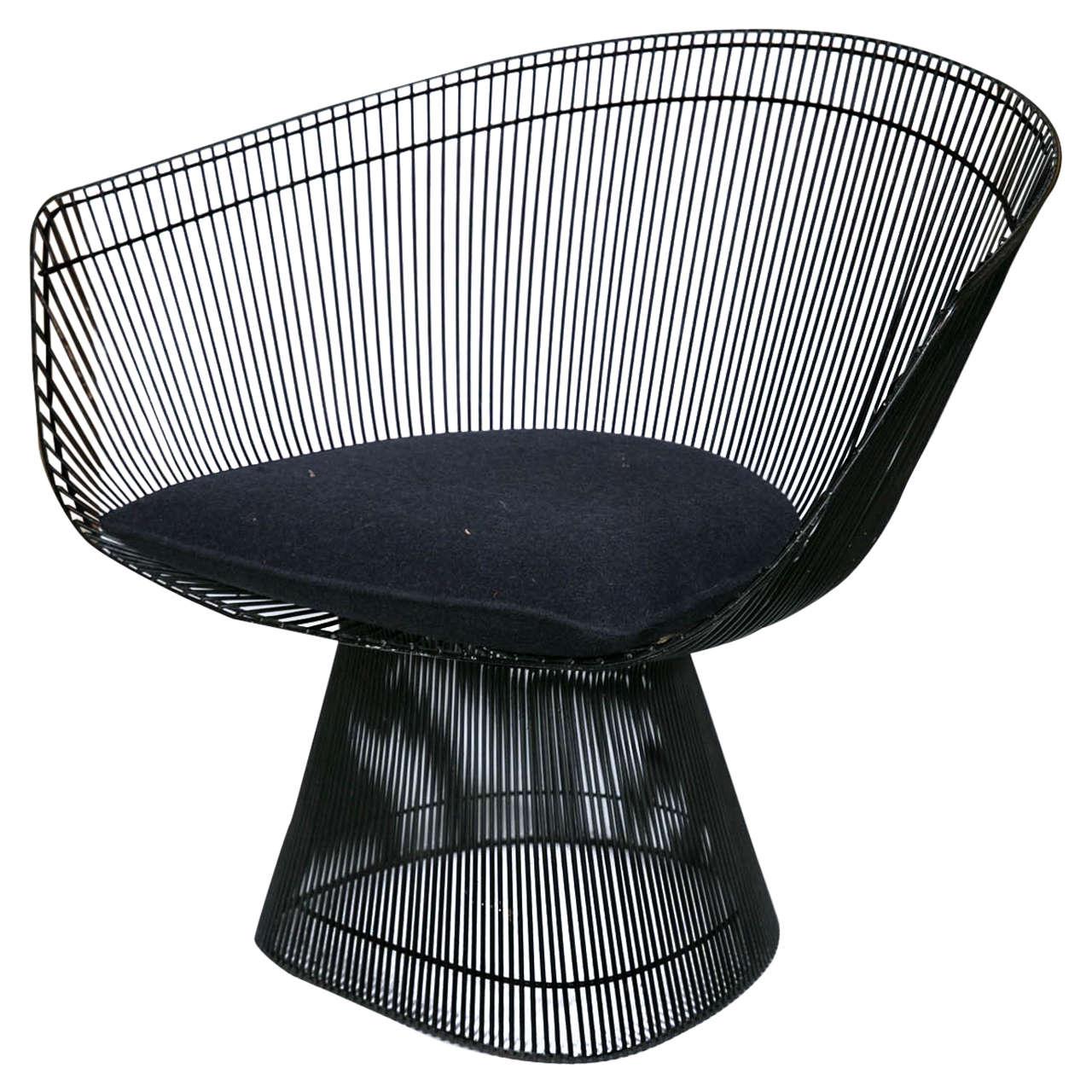Midcentury Warren Platner Lounge Chair For Knoll At 1stdibs