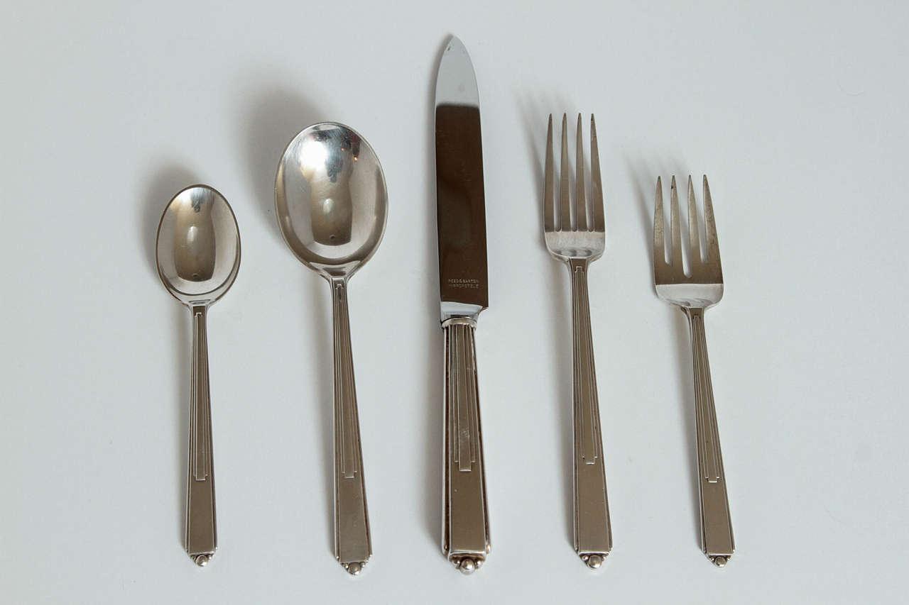 Art Deco modernist silver plate Reed & Barton