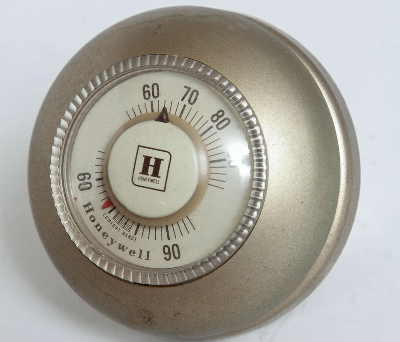 Machine Age Art Deco Industrial Design Patented Henry Dreyfuss Thermostats For Sale 1