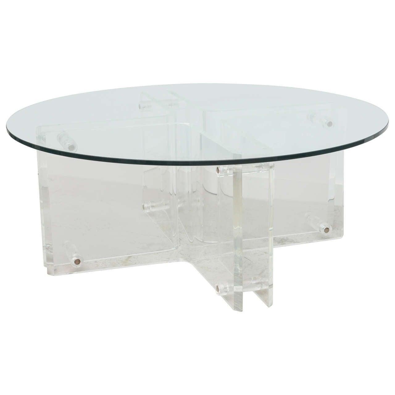 Vintage lucite coffee table at 1stdibs vintage lucite coffee table 1 geotapseo Choice Image