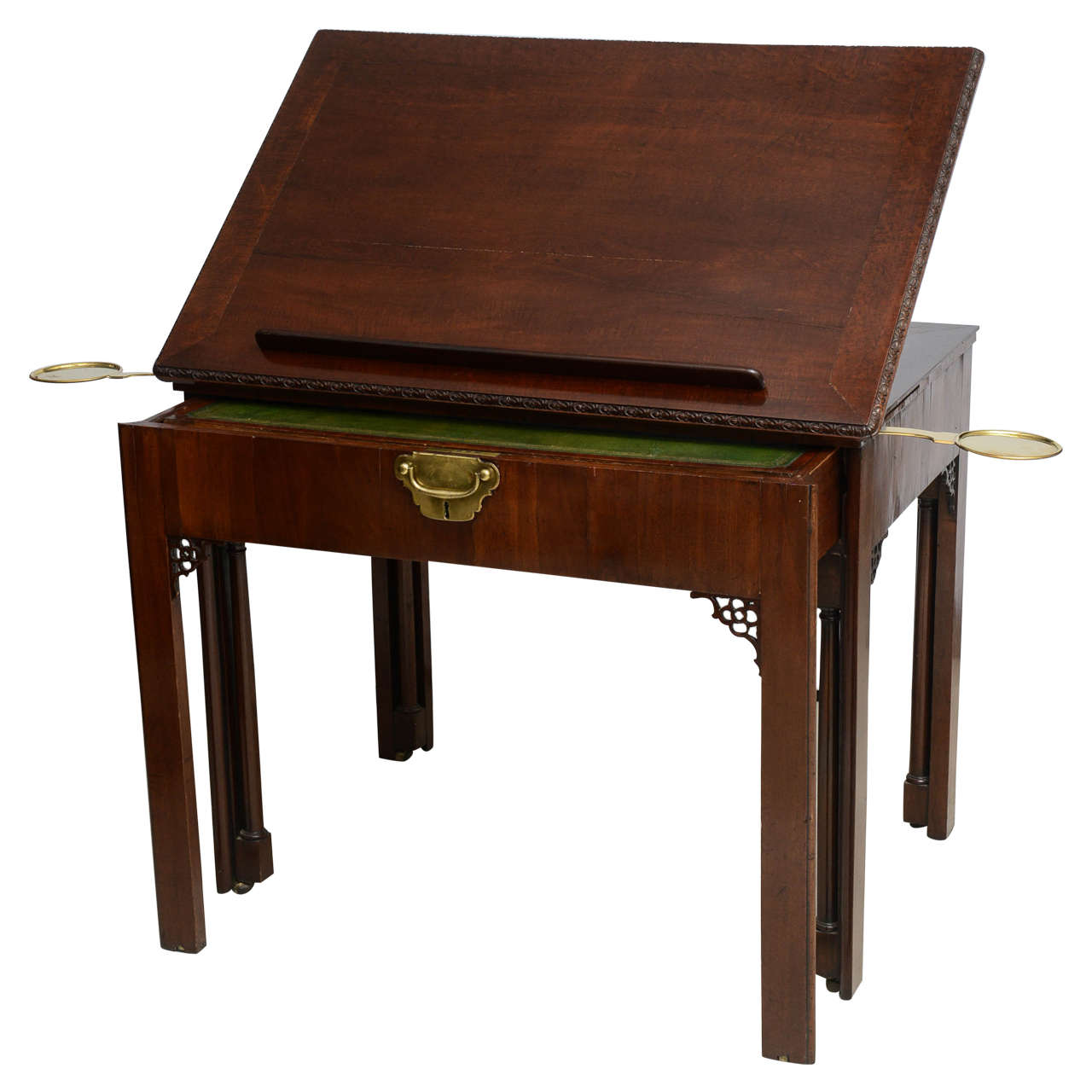 Marvelous photograph of 18th Century Georgian Architects Desk or Writing Desk at 1stdibs with #3C2013 color and 1280x1280 pixels