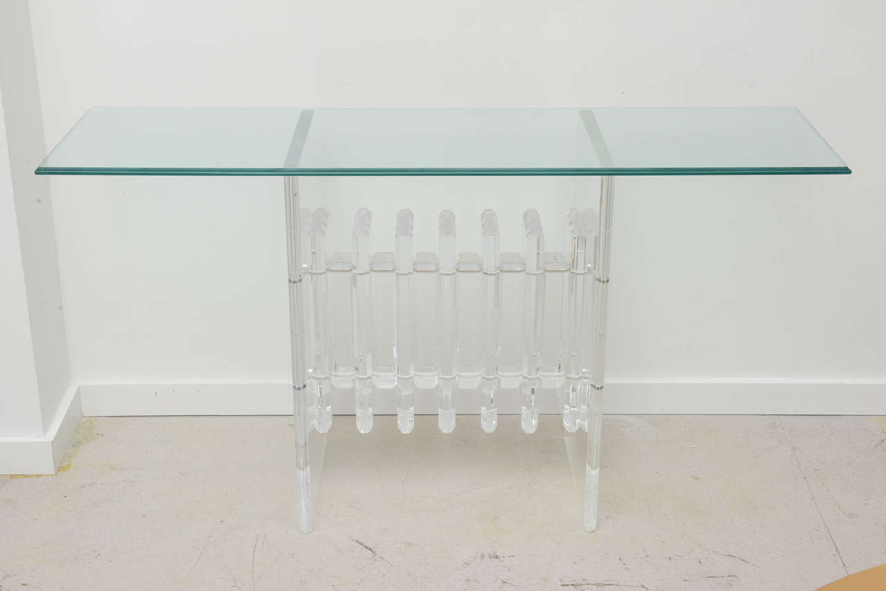 Lucite Sofa Table Acrylic On Wanelo TheSofa