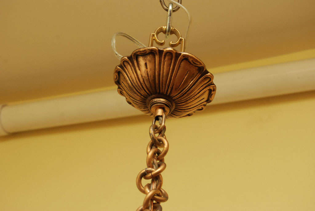A mid-Century Dome ceiling fixture 4
