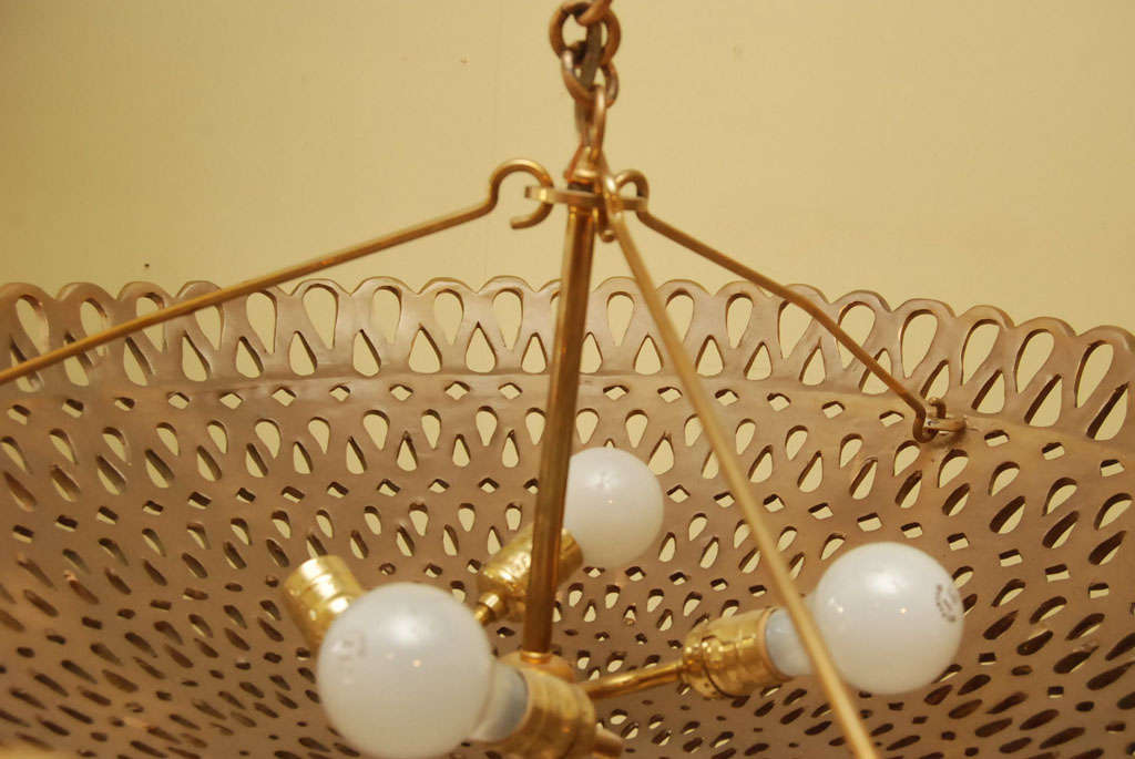 A mid-Century Dome ceiling fixture 5