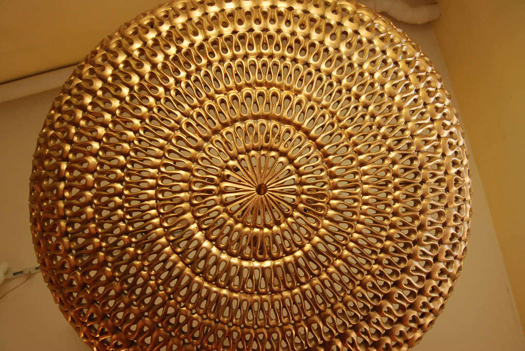 A mid-Century Dome ceiling fixture 7