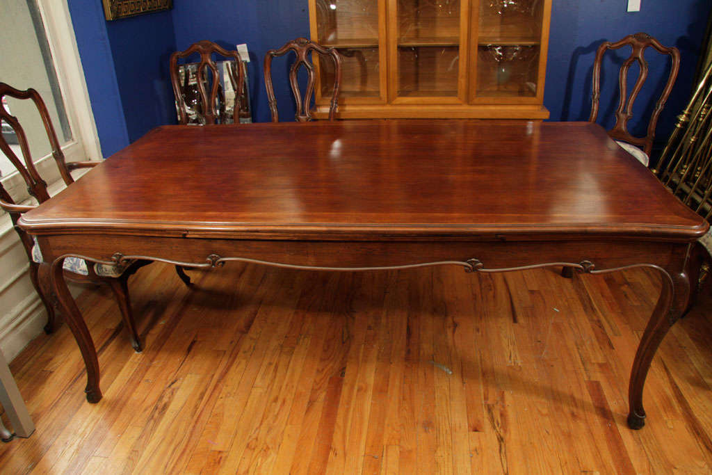 Antique Dining Table With Retractable Leaves At 1stdibs