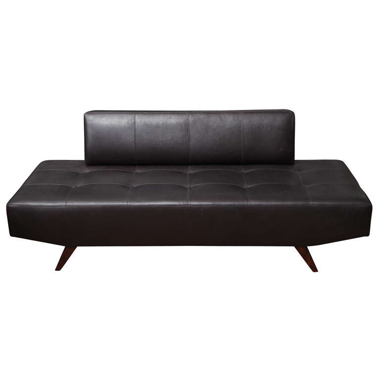 Leather Sofa Or Daybed At 1stdibs
