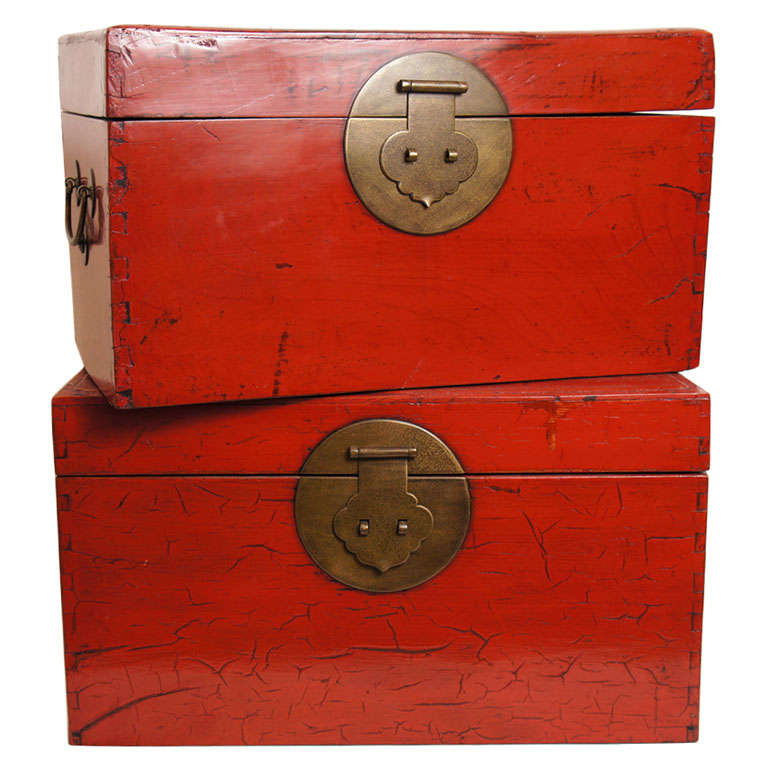 Chinese Document Boxes 1