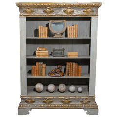 An 18th C. Italian Painted Cabinet