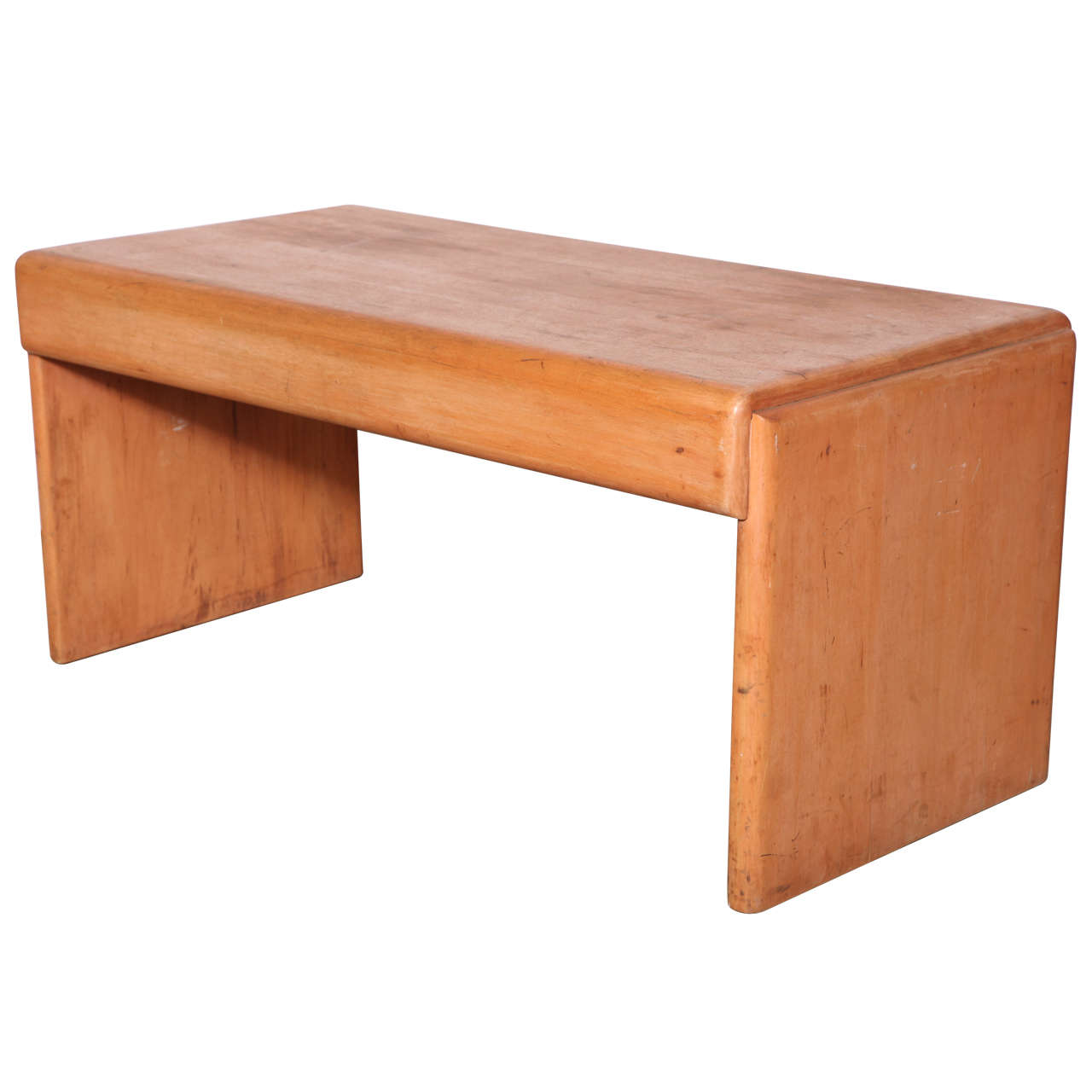 "American Modern Furniture: Rare Russel Wright ""American Modern"" Maple Bench At 1stdibs"