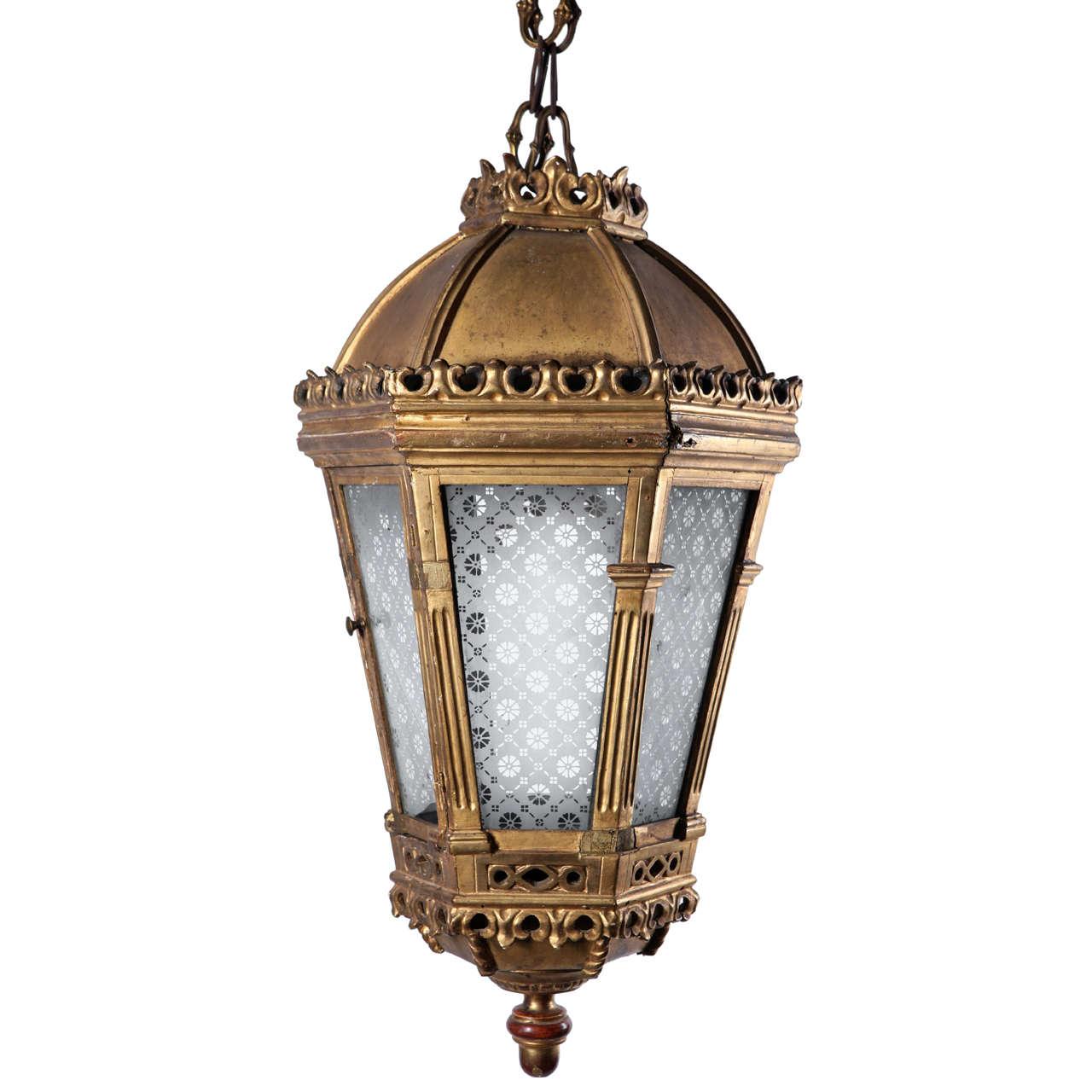 18th Century Lantern At 1stdibs