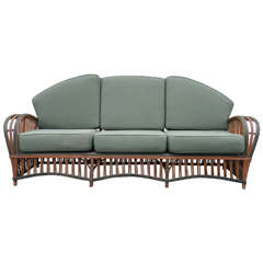 Stick Wicker Sofa