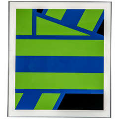 Pierre Clerk Abstract Lithograph