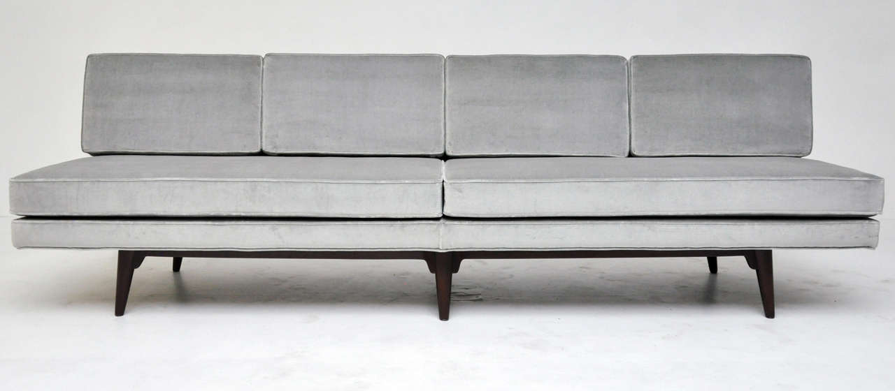 Dunbar Sofa Model 5526. Designed By Edward Wormley. Fully Restored And  Reupholstered.