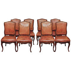 19th Century Louis XV Style Dining Chairs