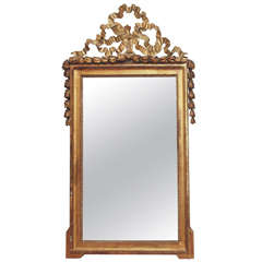 18th Century Giltwood Louis XVI Mirror