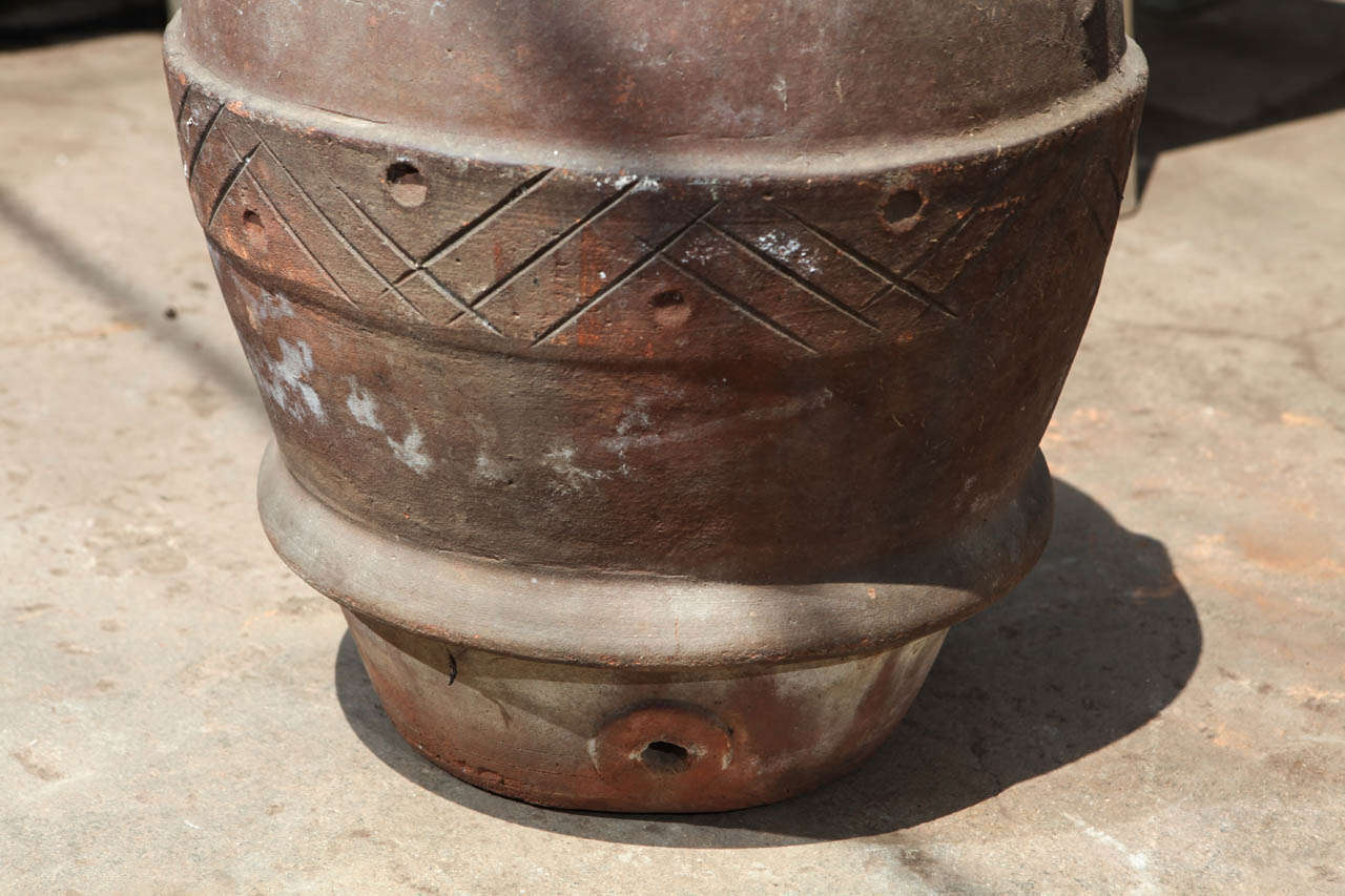19th Century Olive Oil Jara In Good Condition For Sale In Culver City, CA