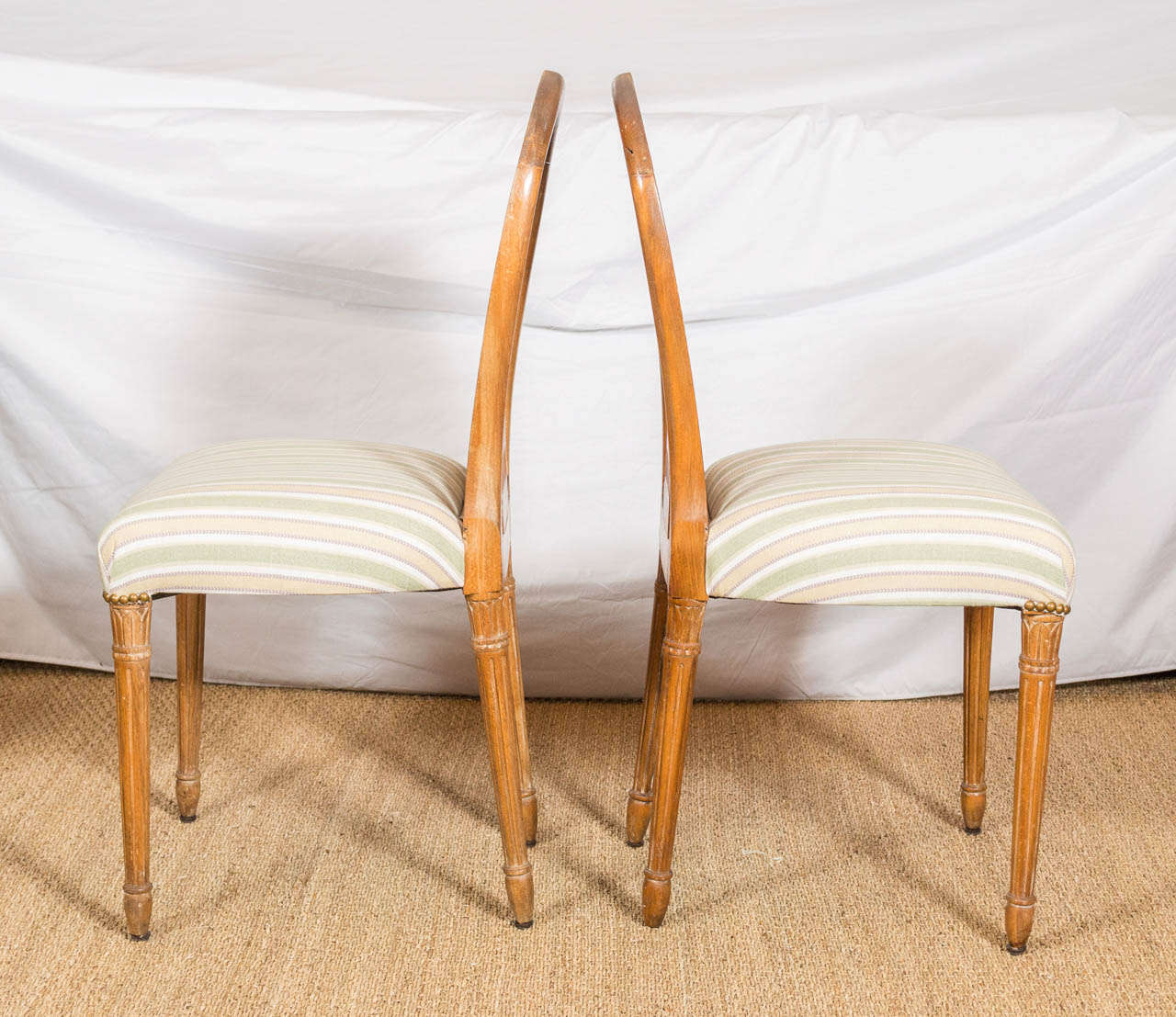 Six Dining Chairs Attributed To Maison Jansen Saturday Sale At 1stdibs