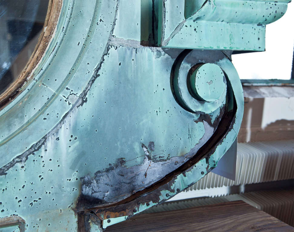 French Zinc Quot Oeil De Boeuf Quot Dormer Window C 1875 At 1stdibs