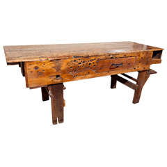 Industrial work bench, c. 1900-20