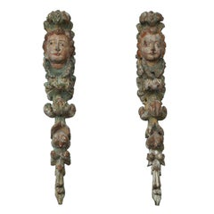 Pair of Spanish Baroque Garlands