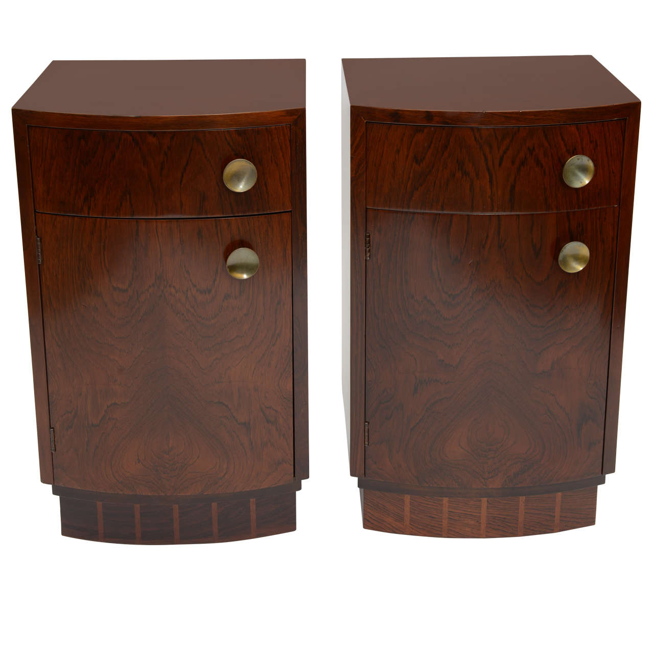 Pair of Gilbert Rohde Nightstands #3770
