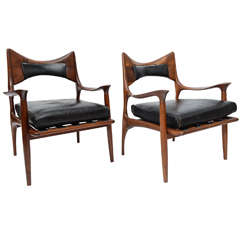 Phillip Lloyd Powell Lounge Chairs