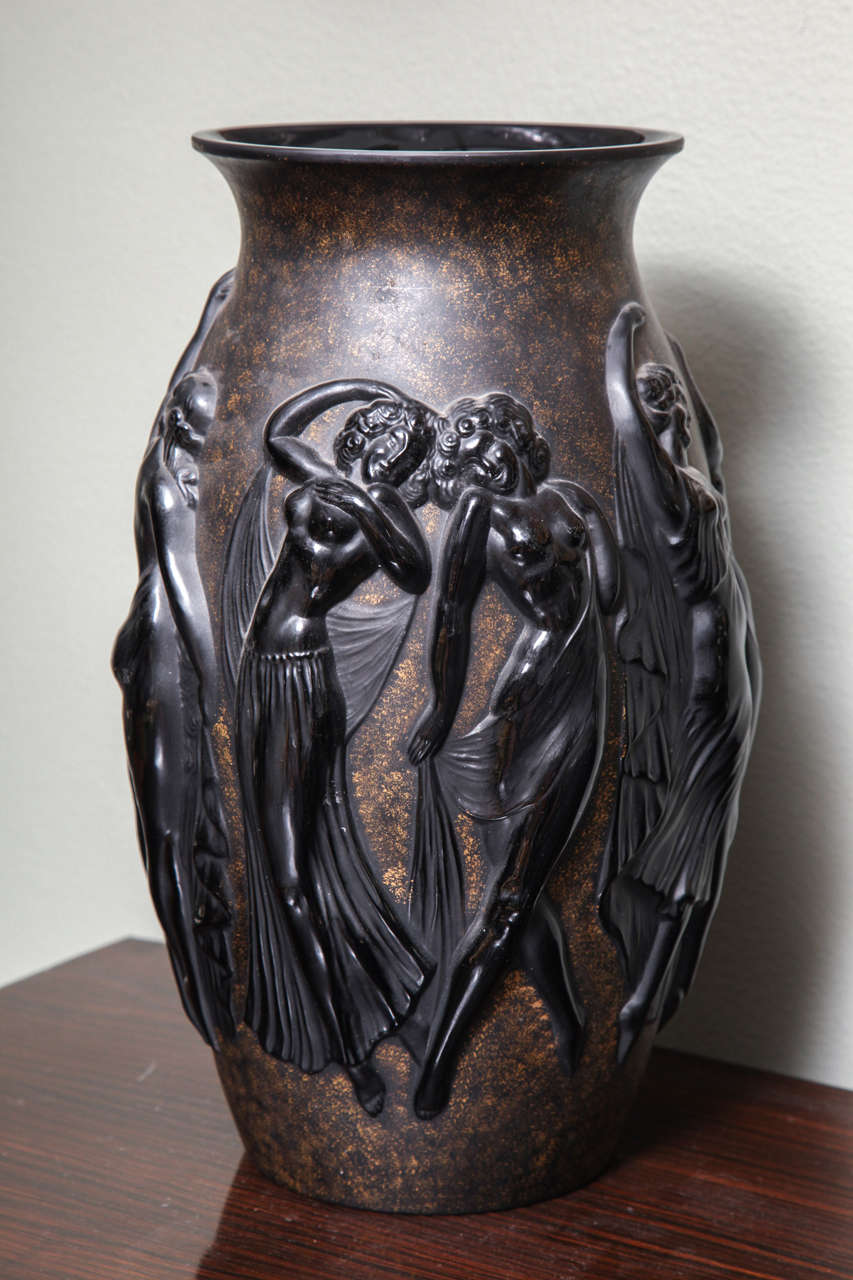 Art Deco Vase by Sabino 3