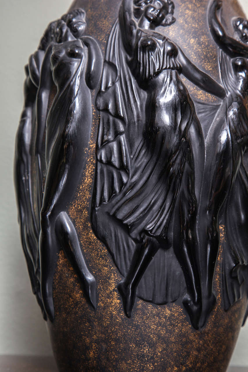 Art Deco Vase by Sabino 5